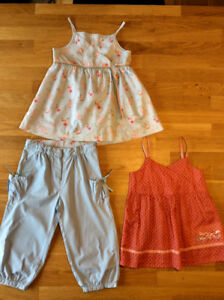 Neuves,ensemble Jacadi et haut Sergent Major fille 5/6ans.
