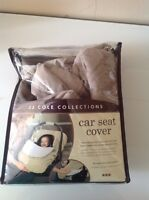 JJ cole car seat cover in excllent condition
