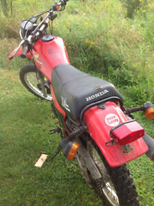 500 Honda trail bike for sale