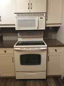 GE Profile Over the Range Microwave-excellent condition
