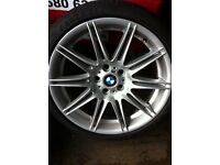 Bmw alloys 19 inch mv4 m sport (spares or repair)