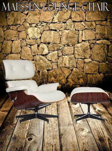 CHEAP!! Maessen lounge chair. Incl ottoman nu €485