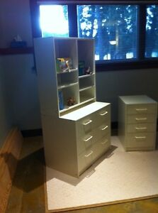 IKEA dressers and book case