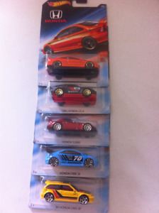 Hot Wheels Honda Series 70 Anniversary JDM Cars