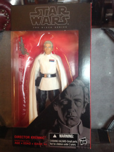 "Star Wars The Black Series # 27 - Director Krenic 6"" Figure"
