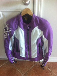 Ladies Motorcycle Jackets and boots
