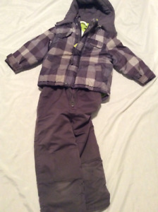 Carters 6 Winter jacket, Joe Fresh 5 yrs snowpants