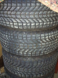 215 70 16 Firestone Winterforce Winter Tires ~~4 tires