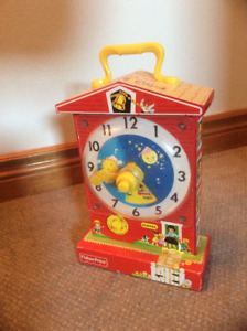 Retro clock from Fisher Price