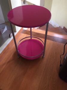 Pink Bedside Table, only $10