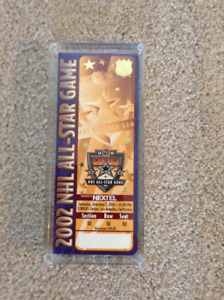Hockey All-Star Game 2002 at Los Angeles ticket stub