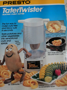 Presto Tater Twister Electric Curly French Fries Slicer