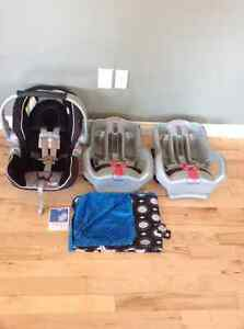 Graco Snugride 35 car seat and 2 bases