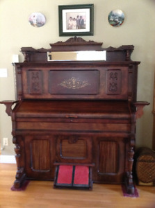 Restored pump organ