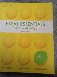 Textbook - Conestoga College - Essay Essentials