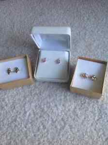 14 Kt gold earrings, 3 pairs $100 each or $250 for all 3 Sarnia Sarnia Area image 2