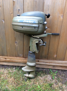 Antique (Gale) Goodyear Seabee 5Hp Outboard Motor