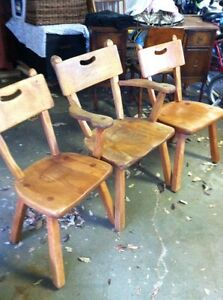 Imperial Loyalist Maple Chair Set  London Ontario image 1