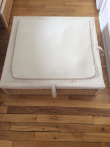 Underbed storage boxes x2 - IKEA RÖMSKOG - available now