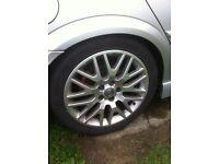 """Vauxhall Vectra C XP2 18"""" alloy wheels"""