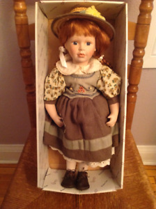 Anne of Green Gables Doll -- REDUCED