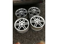 "Genuine mercedes 17"" alloys AMG"