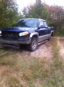 Parting out or sell whole for parts only 03 gmc sierra 4x4