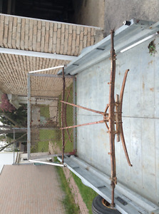 Antique buggy/carriage frame and roof for sale