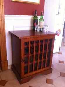 Cellier pour bouteille de vin ( Rangement - Meuble - Cabinet )