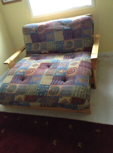 Couch converts to double bed