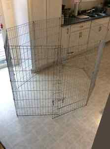 Large dog play pen - great for puppy training