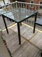 Table de jardin -30$