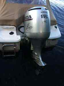 115 Honda OutBoard on 17 Foot Bowrider REDCUCED price if taken t