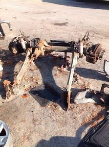 2006 F350 SUPERDUTY FRONT AND REAR AXLE SET UP  Peterborough Peterborough Area image 2