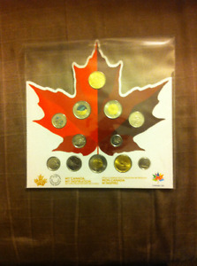 Canada 150 Uncirculated12 Coin Set, with 2 Silver Bullion Coins