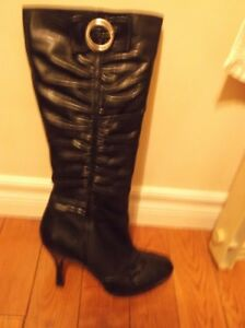 Aldo leather boots, size 7