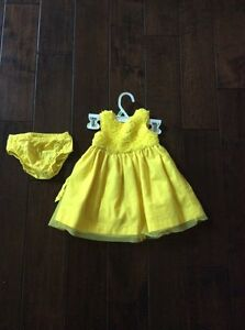 Yellow Dress for sale size 9 months