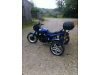 Vintage 1986 Honda 500 trike with 9 months test