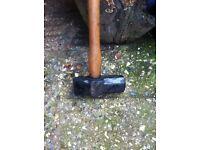 Sledge hammer.