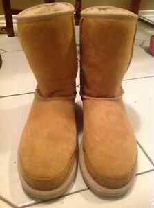 Classic Short Sheepskin and Suede Genuine Uggs