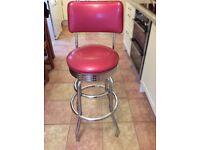 Retro American Diner Chair /Stool