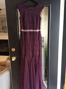 PURPLE GOWN-Size 8