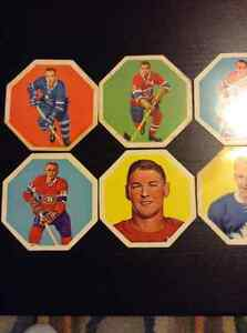 1963-64 York Peanut Butter Yellowback Hockey Disks Kitchener / Waterloo Kitchener Area image 3