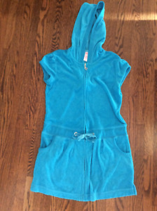 Girls size 12 Justice Terrycloth Swim Coverup