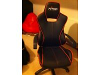 Leather gaming / computer chair