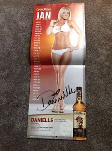 Captain Morgan signed calendar.  Regina Regina Area image 1