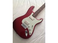 Fender Stratocaster blacktop HH configuration upgraded super player