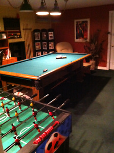 Pool Table with all accessories included