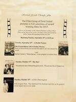 Film Group of First United Church, Truro