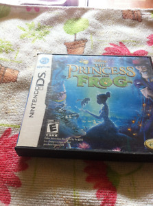 Disneys the princess and the frog nintendo ds game